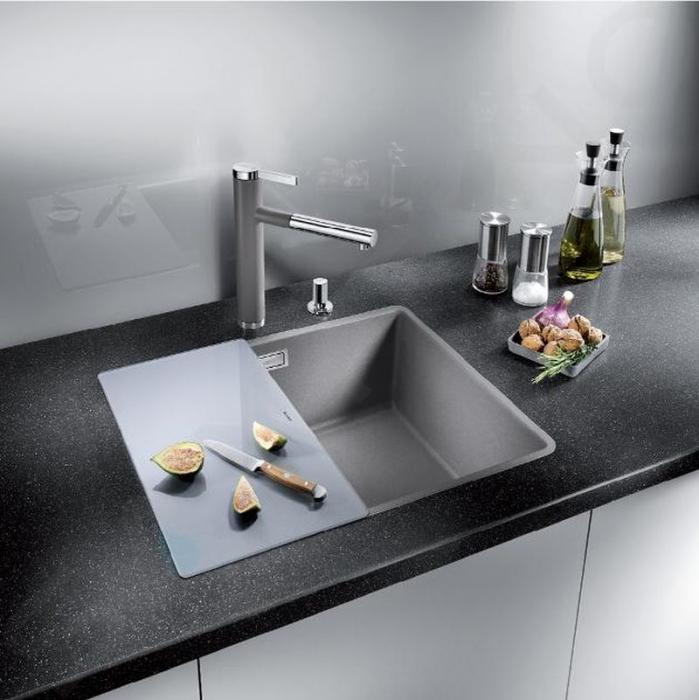 Blanco tocator din sticla securizata 240x435 mm pt Andano si Subline [6]