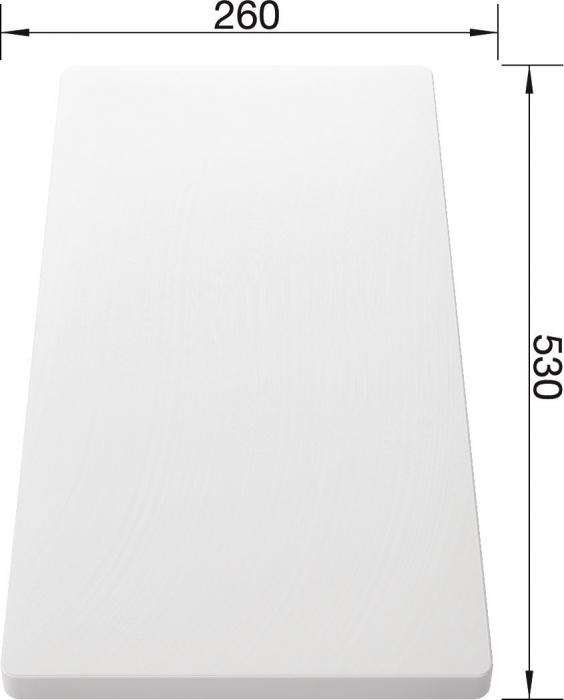 Blanco tocator plastic pentru chiuvetele cu cuva adanca de 500 mm [2]