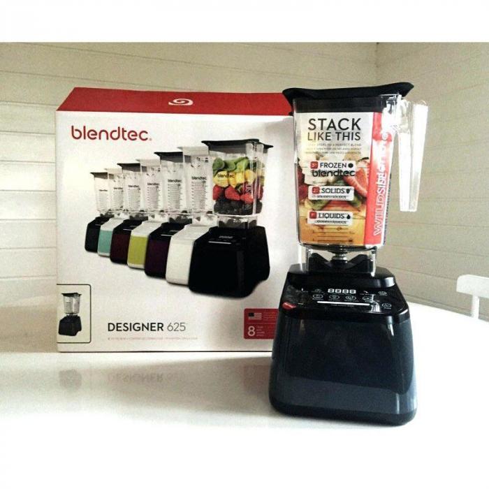 Noul Blender Blendtec 625 Designer-made in USA 6