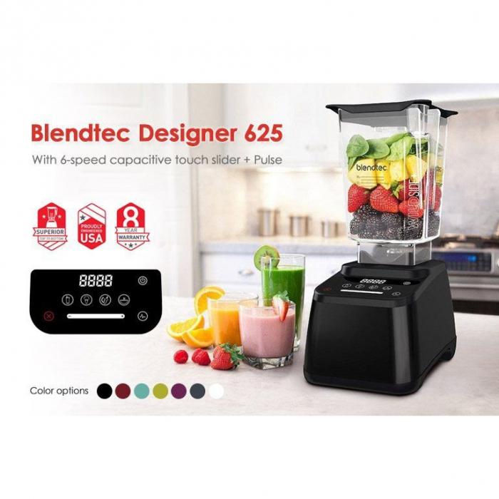 Noul Blender Blendtec 625 Designer-made in USA 7