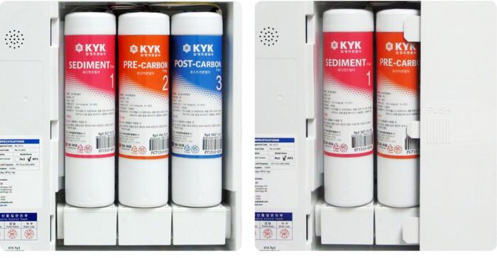 Cartuse filtru de schimb pentru purificator de apa KYK Higen 3+ [0]