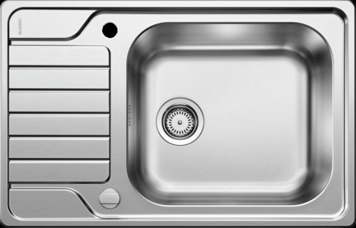 Chiuveta Blanco LEMIX XL 6S- IF reversibila, inox periat si excentric [1]