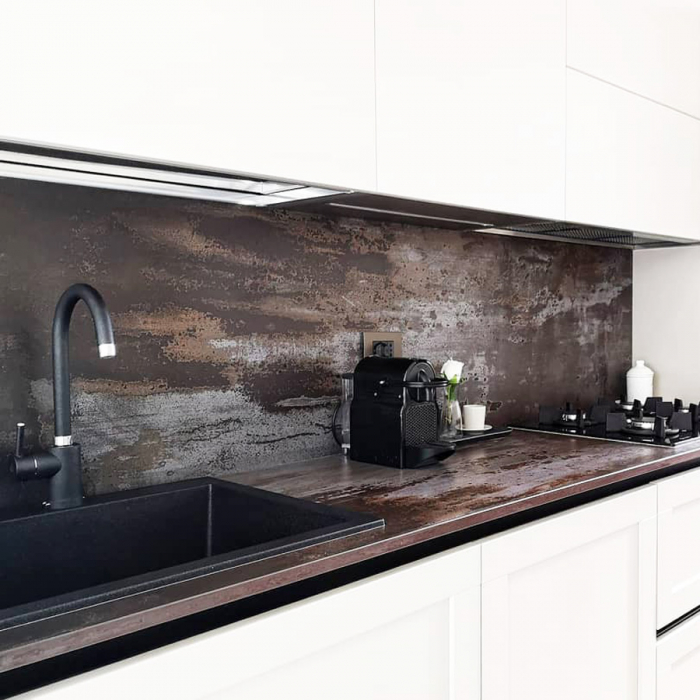 Chiuveta bucatarie granit CookingAid Cube ON7610 Neagra / Black Metal quartz + accesorii montaj [3]