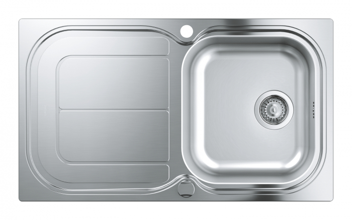 Chiuveta bucatarie Grohe K300 din inox cu mecanism automat de scurgerey [3]