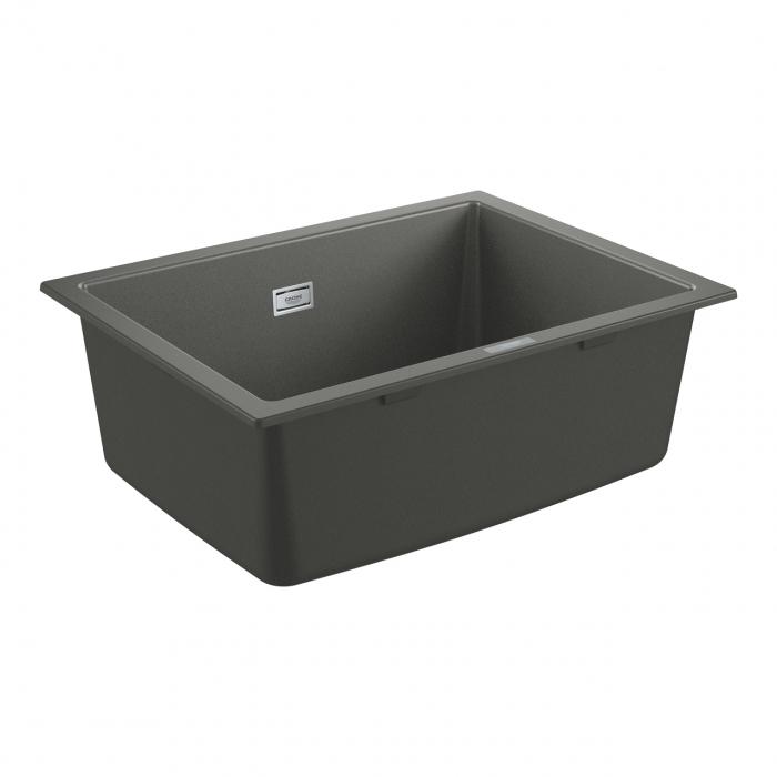 Chiuveta bucatarie Grohe K700, 560X510, o cuva, granit black sau grey [3]