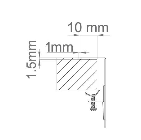 Chiuveta bucatarie inox CookingAid LUX STEP 50 + Bonus: tocator Versus din ABS reversibil in scurgator vase + accesorii montaj [7]