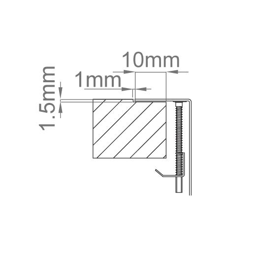 Chiuveta bucatarie inox CookingAid LUX STEP 50 + Bonus: tocator Versus din ABS reversibil in scurgator vase + accesorii montaj [6]
