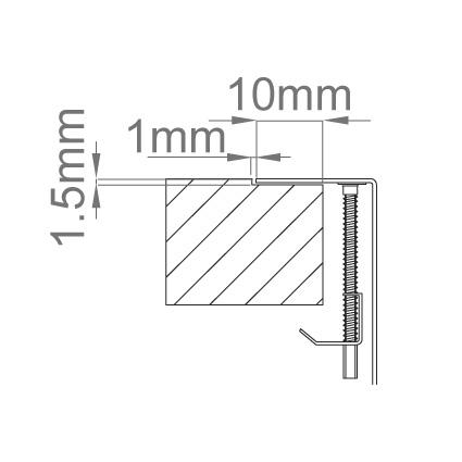 Chiuveta bucatarie inox CookingAid LUX STEP 57 + Bonus: tocator Versus din ABS reversibil in scurgator vase + ventil automat scurgere + accesorii montaj 10