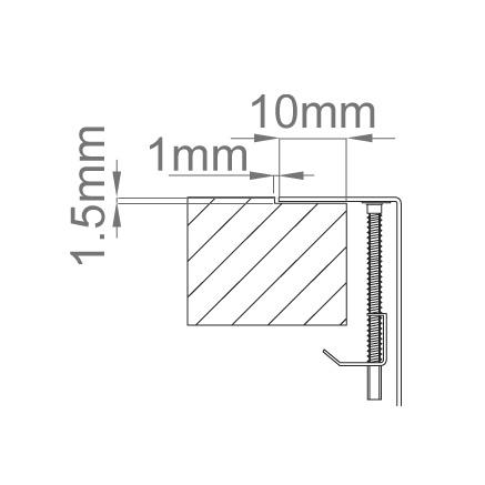 Chiuveta bucatarie inox CookingAid LUX STEP 74 + Bonus: tocator Versus din ABS reversibil in scurgator vase si accesorii montaj [4]