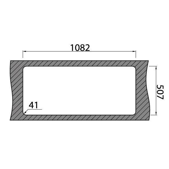 Chiuveta bucatarie inox CookingAid VISION 100 cu baterie telescopica integrata, tocator sticla temperizata + accesorii montaj 9