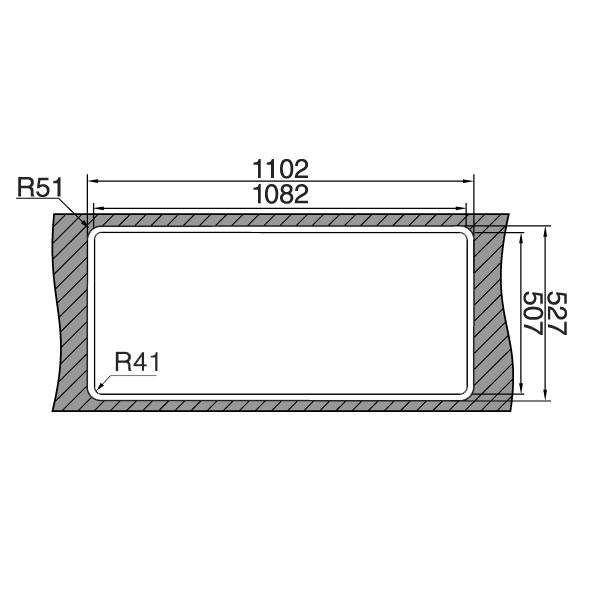 Chiuveta bucatarie inox CookingAid VISION 100 cu baterie telescopica integrata, tocator sticla temperizata + accesorii montaj 10