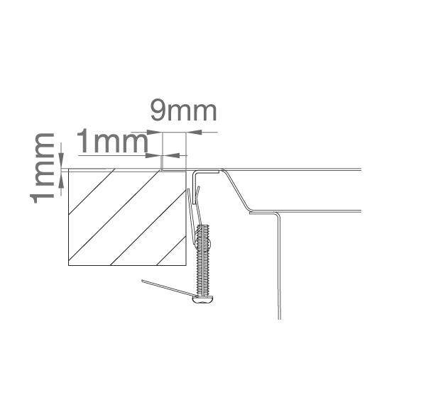 Chiuveta bucatarie inox CookingAid VISION 100 cu baterie telescopica integrata, tocator sticla temperizata + accesorii montaj 11