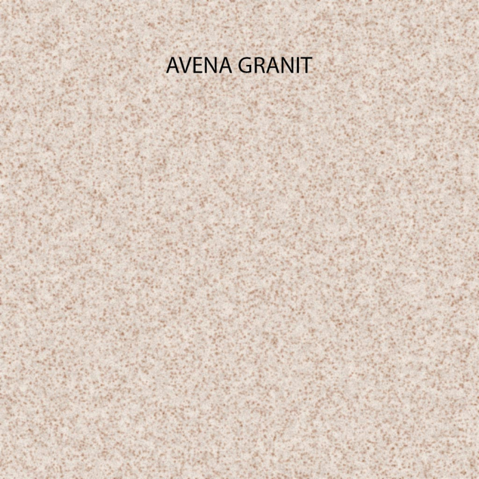 Chiuveta bucatarie rotunda granit CookingAid Naiky NK5110 Bej Pigmentat / Avena + accesorii montaj [7]