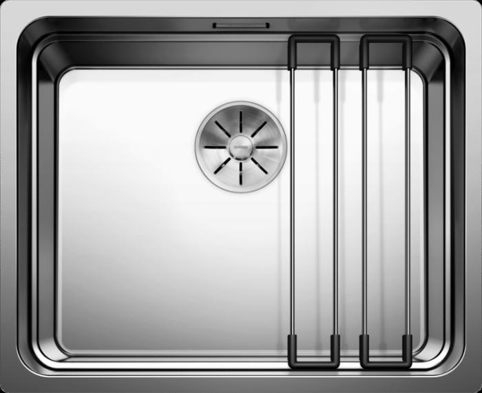 Chiuveta inox Blanco ETAGON 500-U InFino fara excentric [1]
