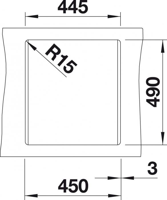 Chiuveta de bucatarie Blanco Dalago 45 silgranit [2]