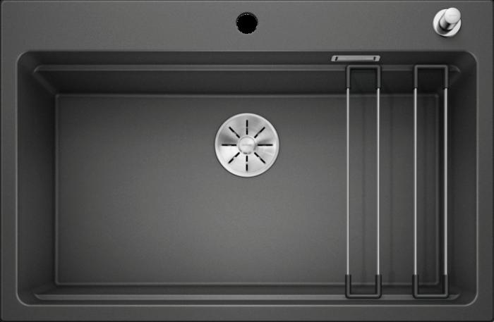 Chiuveta de bucatarie Blanco Etagon 8 silgranit cu accesorii si excentric [0]