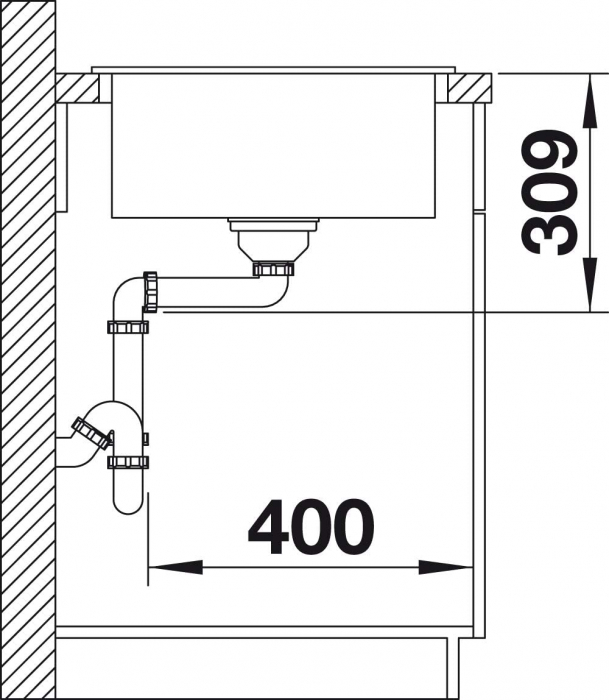 Chiuveta de bucatarie Blanco Faron XL 6 S [6]