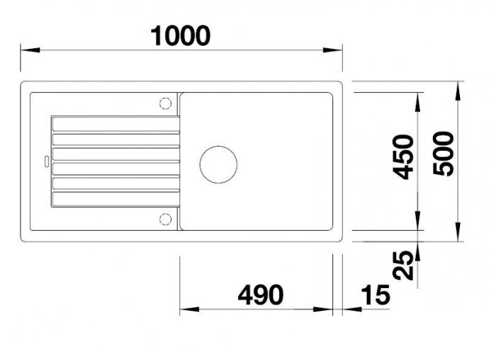 Chiuveta de bucatarie BLANCO ZIA XL 6 S 3