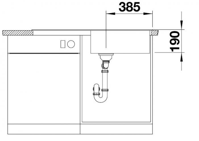 Chiuveta de bucatarie BLANCO ZIA XL 6 S 5