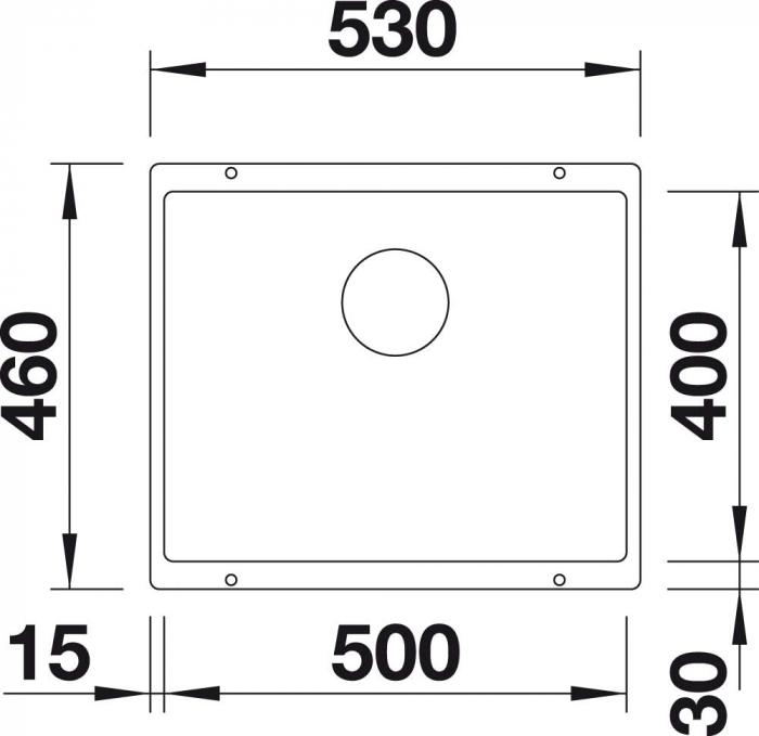 Chiuveta de bucatarie granit BLANCO SUBLINE 500 U [10]
