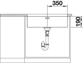 Chiuveta de bucatarie inox BLANCO ANDANO 700-U 5