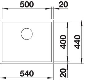 Chiuveta de bucatarie inox BLANCO Z-STYLE [3]