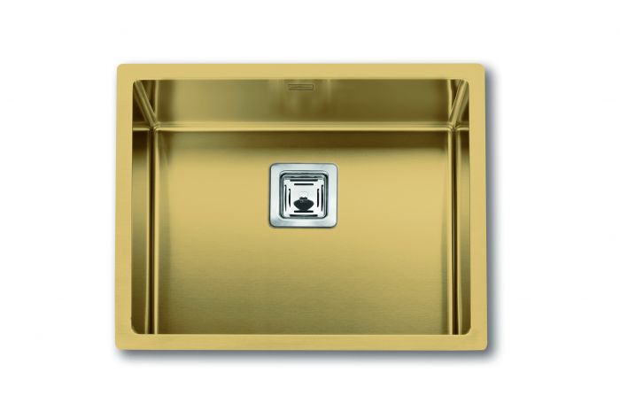 Chiuveta de bucatarie inox PVD ArtInox Titanium 50 culoare aurie [0]