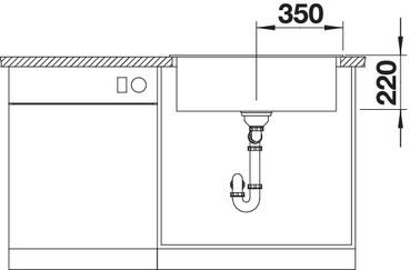 Chiuveta de bucatarie PLEON 8 Silgranit [3]
