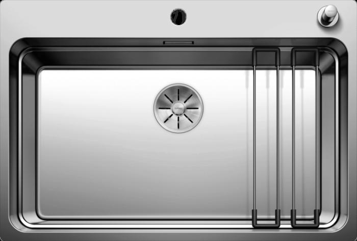 Chiuveta din inox pentru bucatarie Blanco Etagon 700 IF/A cu excentric [2]