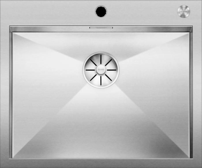 Chiuveta inox BLANCO ZEROX 550-IF/A Durinox® cu pushcontrol [1]