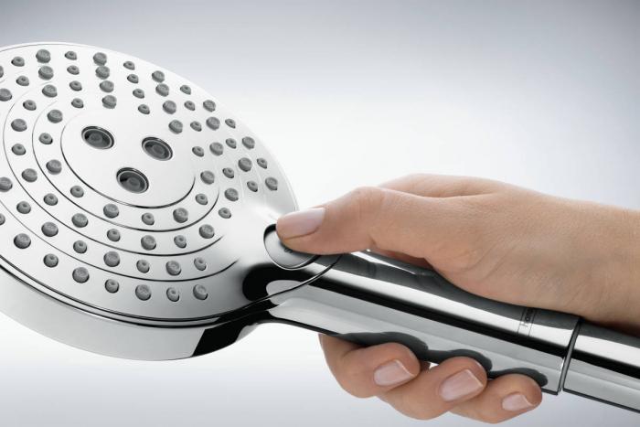 Coloana de dus cu termostat Hansgrohe Raindance Select S 3
