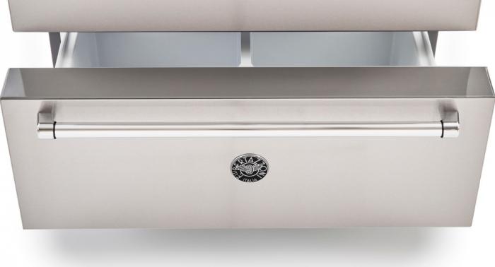 Combina frigorifica Bertazzoni neincorporabila 90 cm Inox design Neutral 3