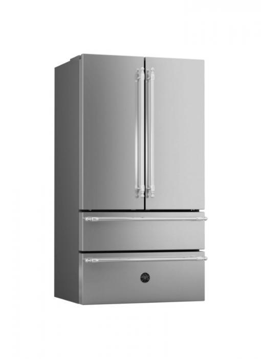 Combina frigorifica Bertazzoni neincorporabila 90 cm Inox design Neutral 0