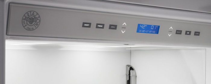 Combina frigorifica  incorporabila Bertazzoni,90 cm design Neutral, seria Profesional 1