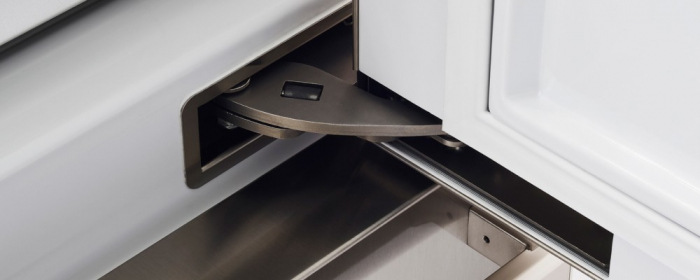 Combina frigorifica  incorporabila Bertazzoni,90 cm design Neutral, seria Profesional 3