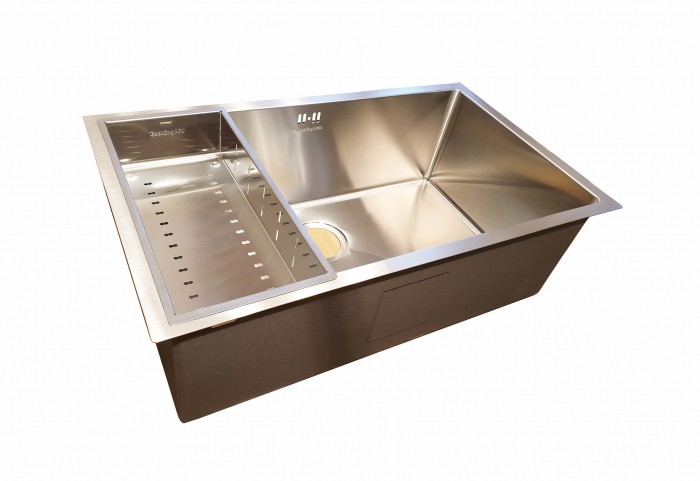 CookingAid Set complet chiuveta bucatarie inox  HERA LARGE + baterie Line MN 1011 [5]