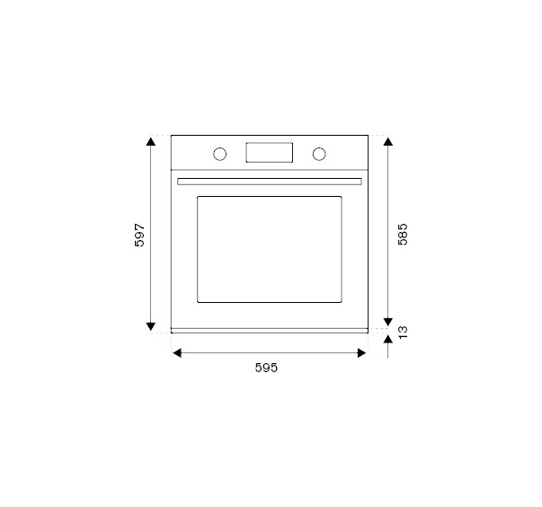 Cuptor electric incorporabil Bertazzoni,Modern Series 60 cm 5 functii [3]