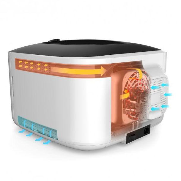 Deshidrator de alimente Counter Intelligence, 500 W, 35-70°C, Alb-Negru [8]