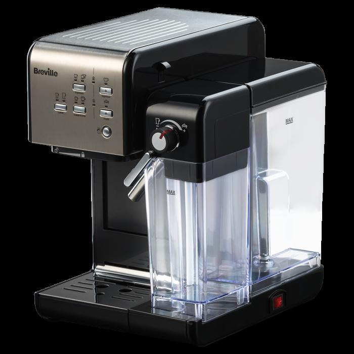 Espressor Manual cu Lapte Prima Latte II Silver Breville 17