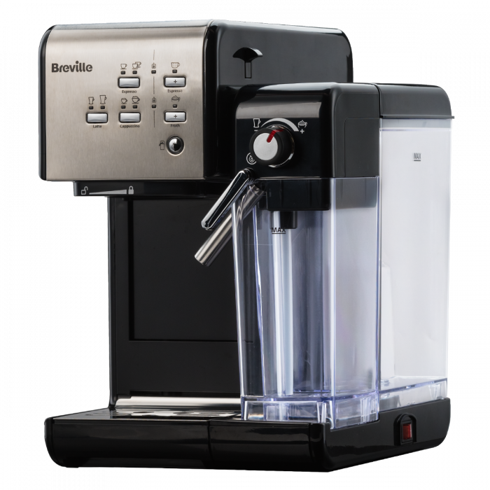 Espressor Manual cu Lapte Prima Latte II Silver Breville 15