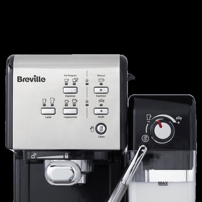 Espressor Manual cu Lapte Prima Latte II Silver Breville 6