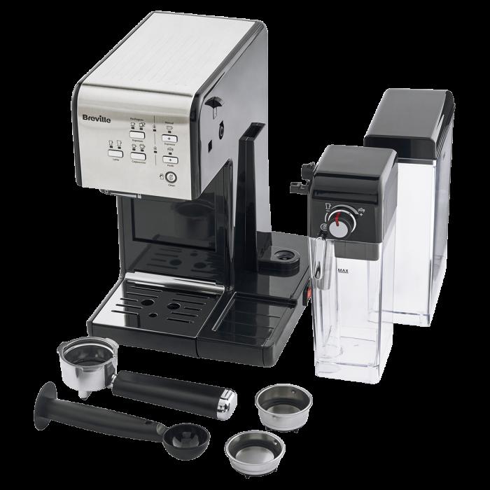 Espressor Manual cu Lapte Prima Latte II Silver Breville 4