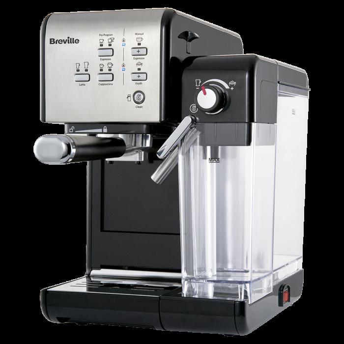 Espressor Manual cu Lapte Prima Latte II Silver Breville 3
