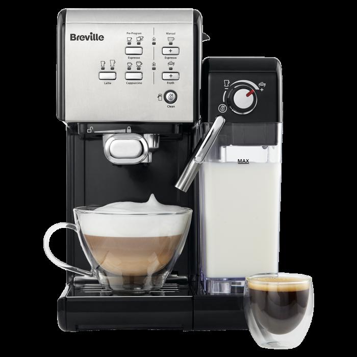 Espressor Manual cu Lapte Prima Latte II Silver Breville 1