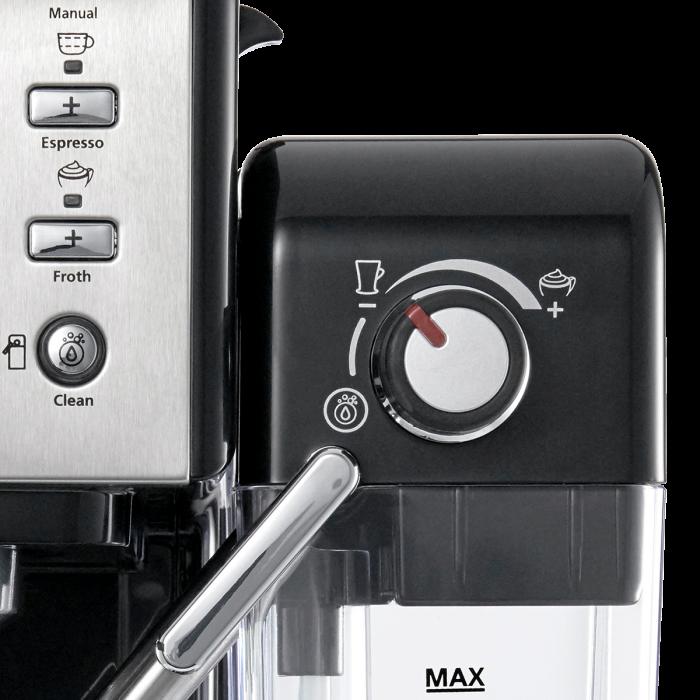 Espressor Manual cu Lapte Prima Latte II Silver Breville 5
