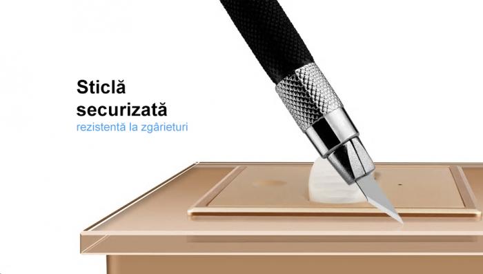 Intrerupator Livolo cu senzor de prezenta / miscare PIR, Zigbee, rama de sticla 8