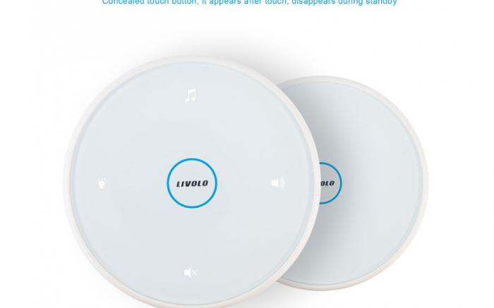 Kit sonerie tactibila cu wireless Livolo  VL-D101-11 [1]