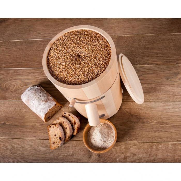 Moara de cereale Milla Home uz rezidential,motor 370w capacitate 500 gr [0]