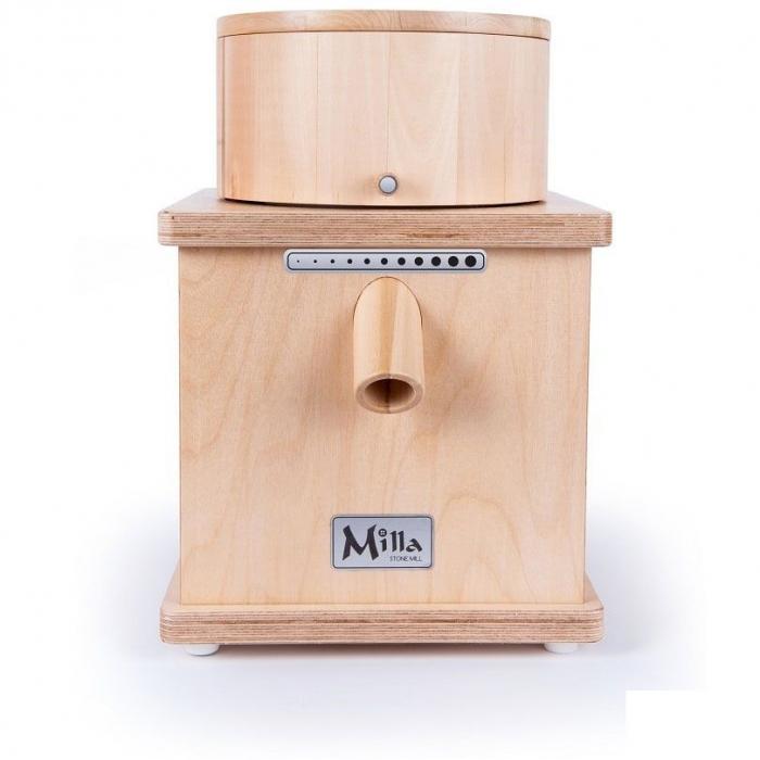 Moara de cereale Milla PRO uz rezidential sau comercial,motor 370w capacitate 900 gr [2]