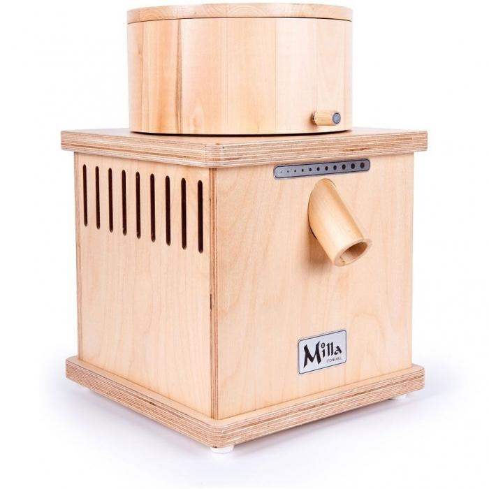 Moara de cereale Milla PRO uz rezidential sau comercial,motor 370w capacitate 900 gr [1]